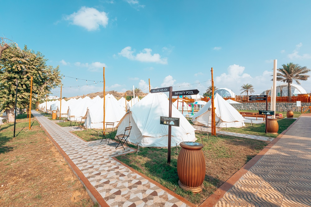 Authentic Deluxe Tent BM hotels and Resorts UAE